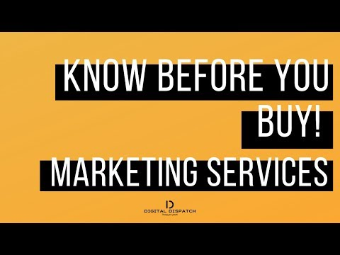 Digital Dispatch Marketing Services: What to know before you buy