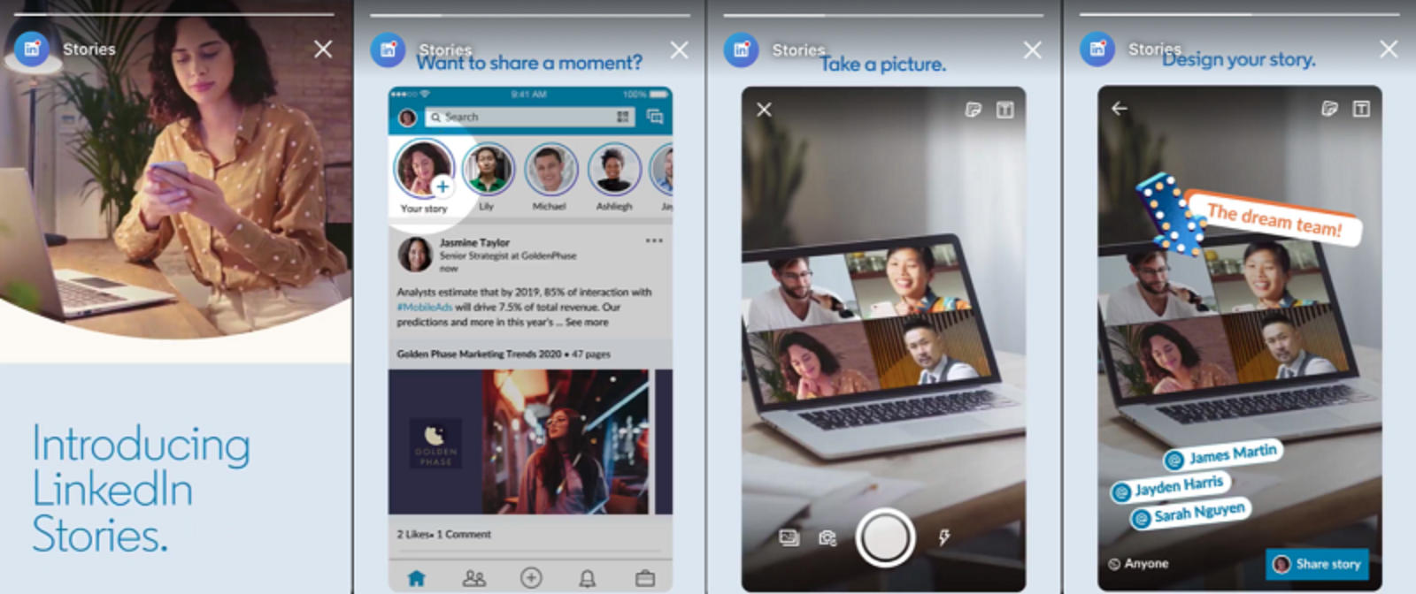 LinkedIn Stories has arrived so here are some tips that won't annoy your audience
